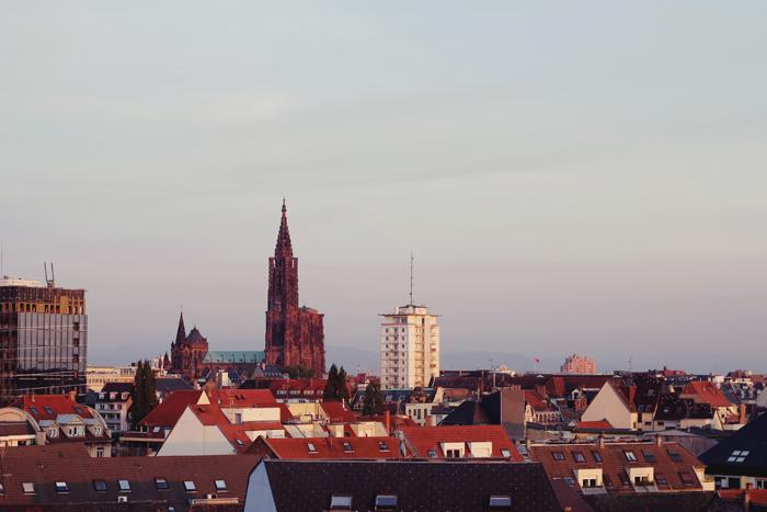 Les toits de Strasbourg