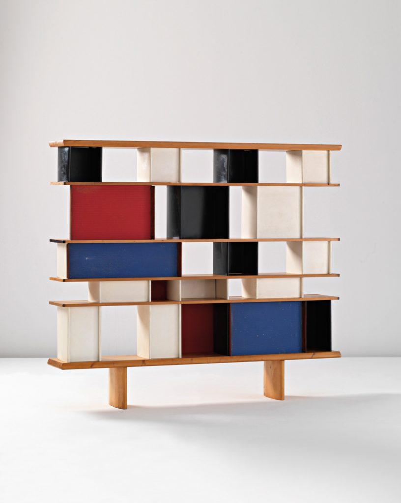 L'objet du désir : une bibliothèque façon Charlotte Perriand