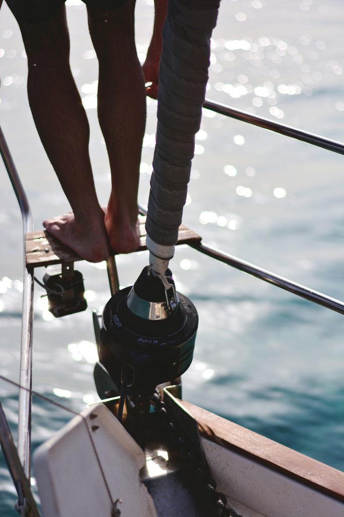 Milos : Depuis la mer