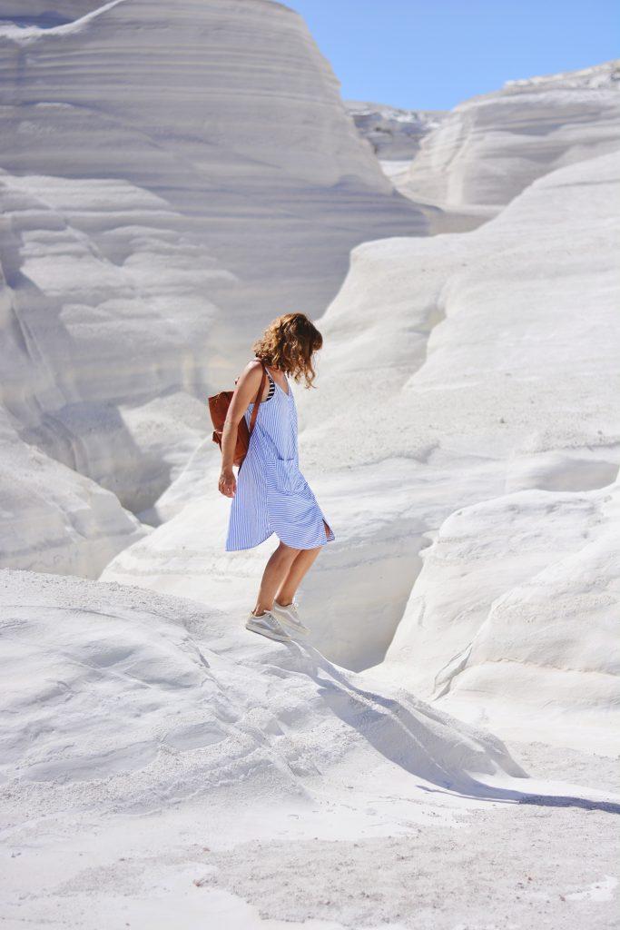 Milos : La côte