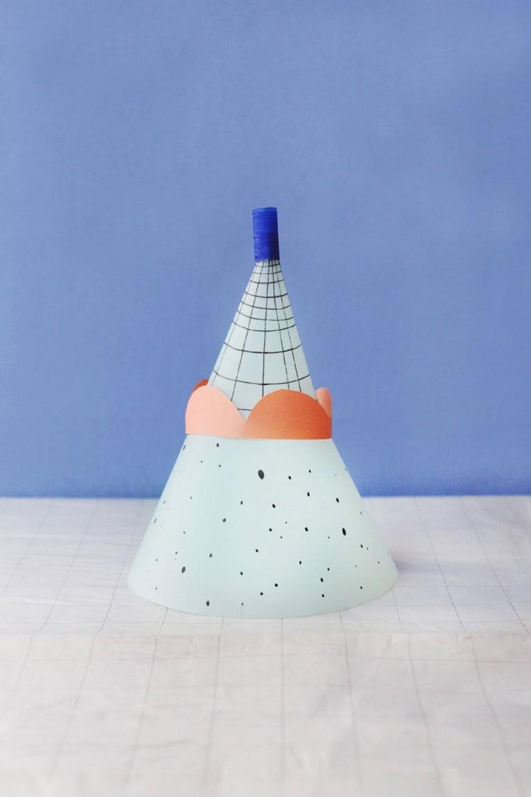 Atelier Noémie Cédille Paper totem