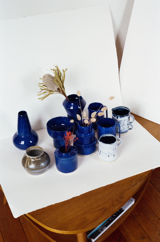 Atelier Noémie Cédille Blue collection