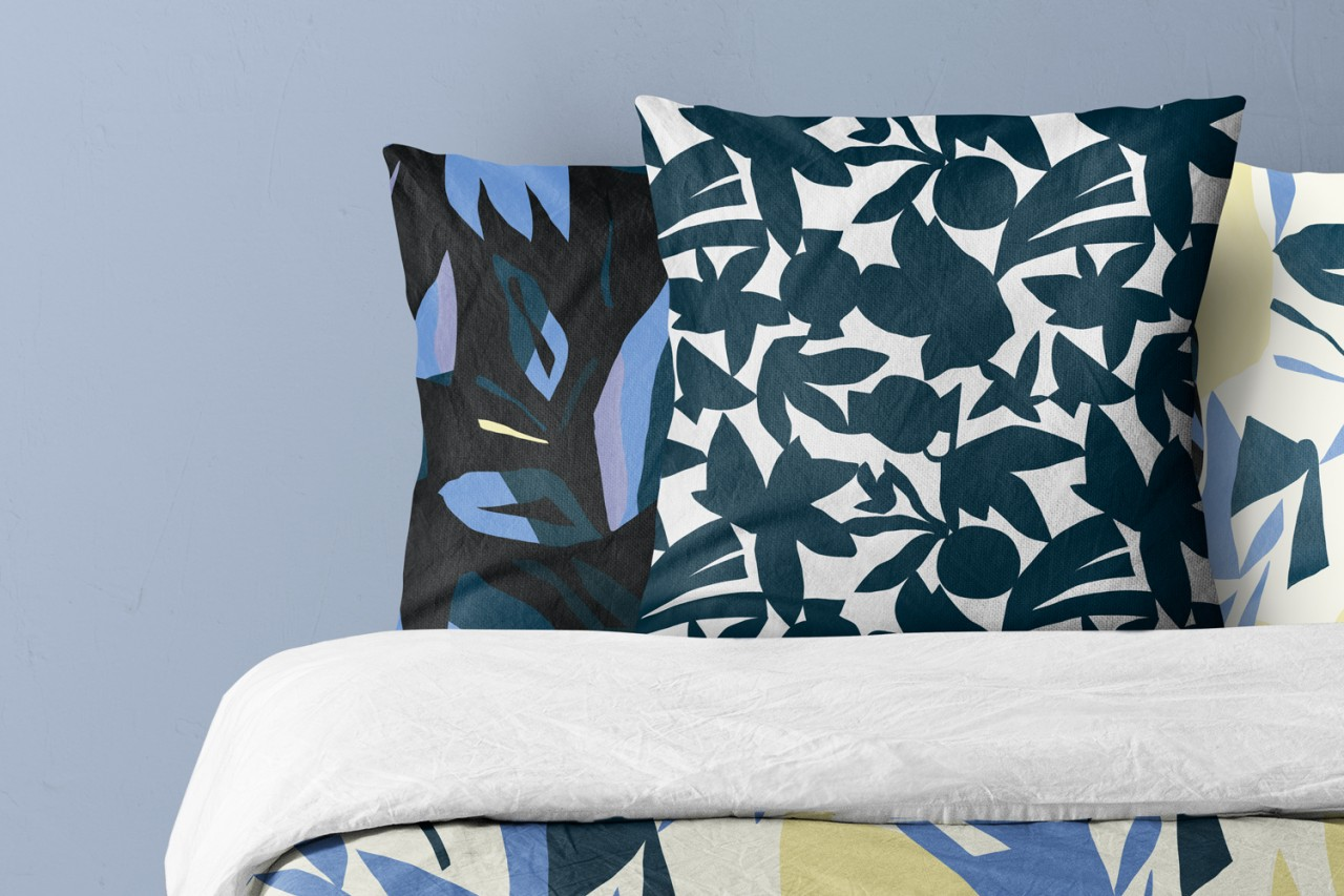 Noémie Cédille Bed collection